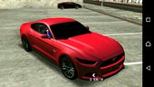 Ford Mustang [ 2015 & Shelby ] (no Txd) For Android
