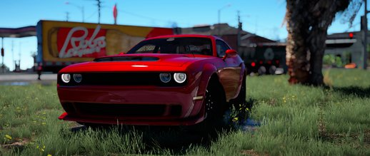2018 Dodge Challenger Demon Fate of The Furious Version BETA