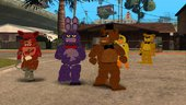Five Nights at Freddy's 1 Skin Pack