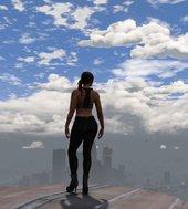 GTA 5 Modified Pants for Multiplayer Female V2 Mod