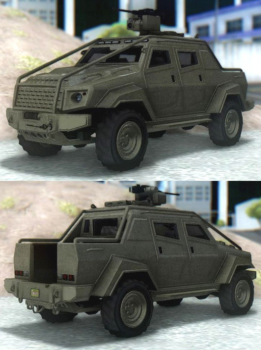 GTA V HVY Insurgent Pick-Up Custom