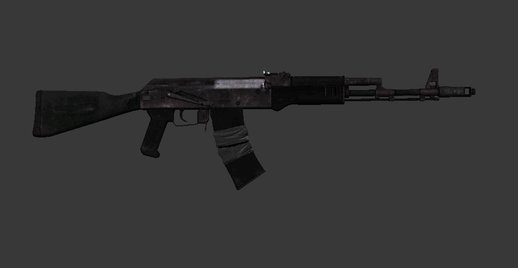 Battlefield 3 AK74M Assault Rifle