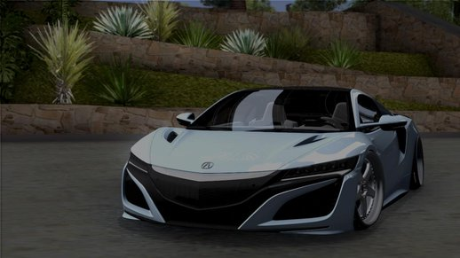 2017 Acura NSX Stance