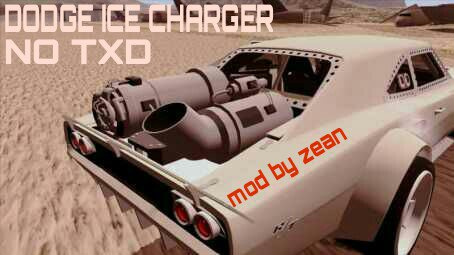 FnF 8 DODGE ICE CHARGER DFF ONLY