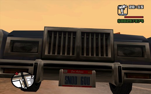 New Licenseplates for GTA SA