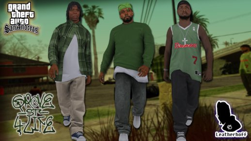 Grove Street Families Remastered