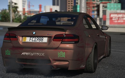 2008 BMW M3 E92 LibertyWalk [HQ|ADDON|LIVERIES|ANALOG/DIGITAL DIALS]
