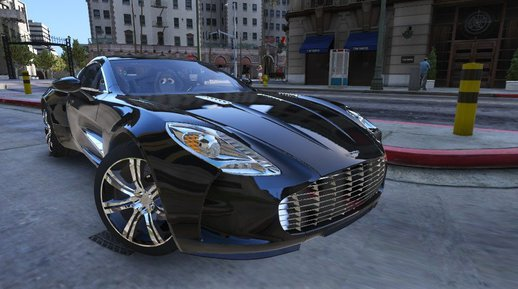 Aston Martin One-77 2010 [Add-On / Replace | Template | Automatic spoiler | Dirtmap]