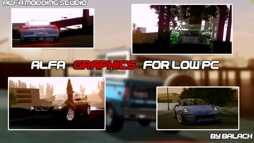Alfa Graphics for Low PC