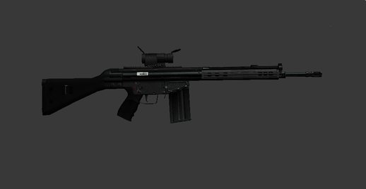 AK-4B Assault Rifle
