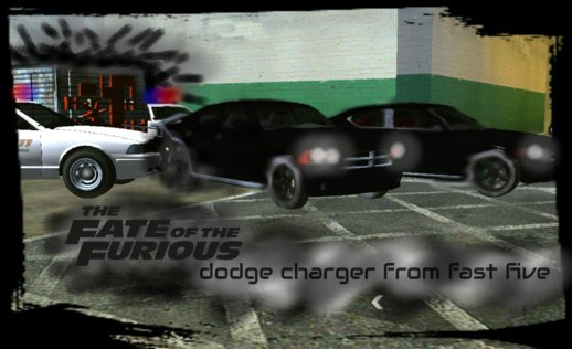 Dodge Charger From Fast Five (no Txd) For Android