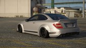 Liberty Walk Mercedes Benz C63 AMG [Add-On | Template]