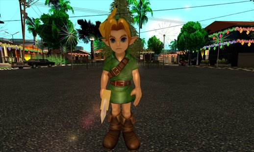 Young Link Skin from Hyrule Warriors