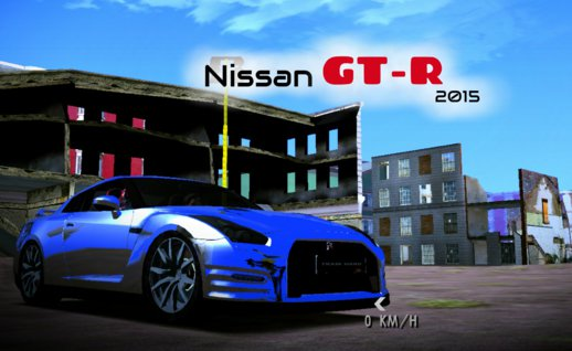 Nissan GT-R 2015 (no txd) for Android