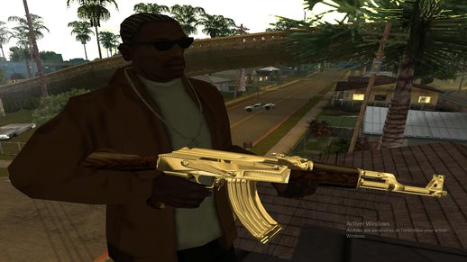 Golden Ak47 For Android