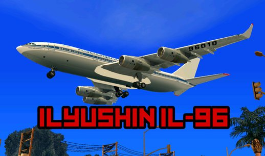 Ilyushin Il-96 for Android (dff only)