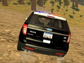 Ford Explorer Police San Andreas Patrol