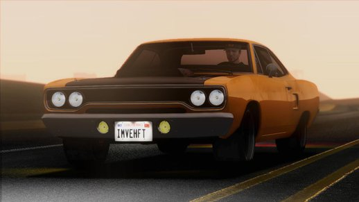 1970 Plymouth Road Runner Fast & Furious 7 Edition