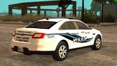 2011 Ford Taurus Greenglass College Police Department