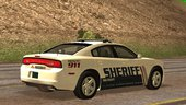 2013 Dodge Charger Red County Sheriff's Office