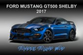 Ford Mustang GT500 Shelby 2017 Sound Mod