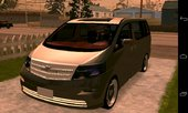 Toyota Alphard Only Dff For Android Mobile