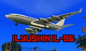 Ilyushin Il-96 Airplane for Android (dff only)