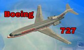 Boeing 727 Airplane for Android (dff only)