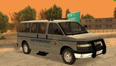 2013 Chevy Express San Andreas Law Enforcement