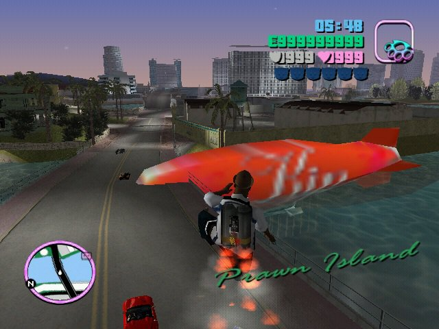 GTA Vice City Gash Blimp Mod Mod - GTAinside com