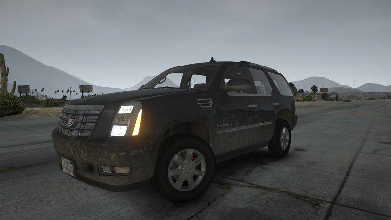 GTA 5 2007 Cadillac Escalade  HQ Engine Mod ...