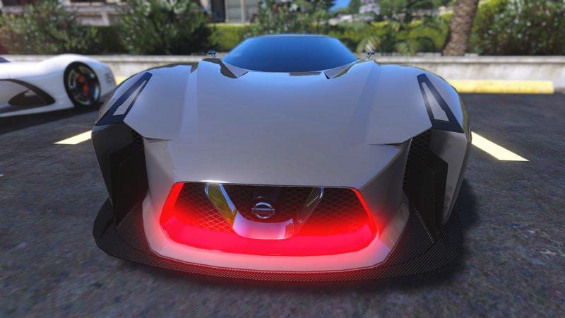 GTA 5 Nissan 2020 Concept Vision GT Mod - GTAinside.com
