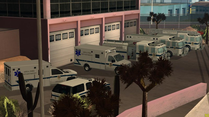 gta san andreas area emergency services mod