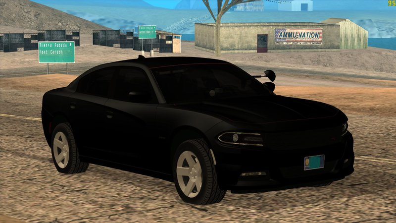GTA San Andreas 2015 Dodge Charger Unmarked Mod - GTAinside com