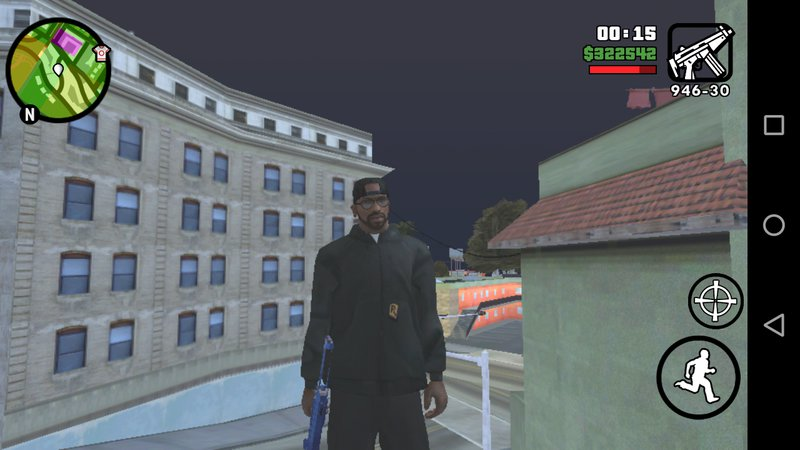 GTA San Andreas Save Game End of the Line for Android Mod