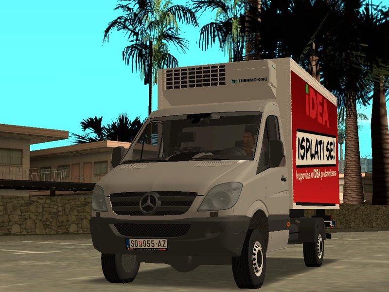 gta san andreas mercedes benz sprinter transporter mod. Black Bedroom Furniture Sets. Home Design Ideas