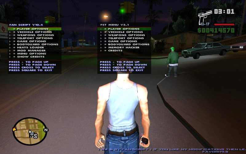 GTA San Andreas Big Trainer Control City + Cell Phone With