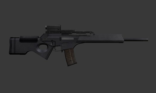 H&K SL8 Assault Rifle