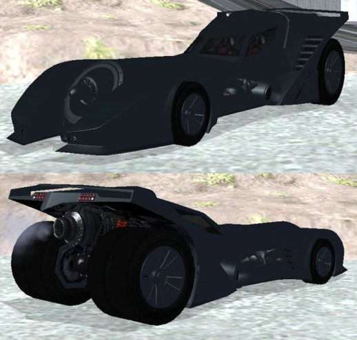 GTA V Vigilante Batmobile 89
