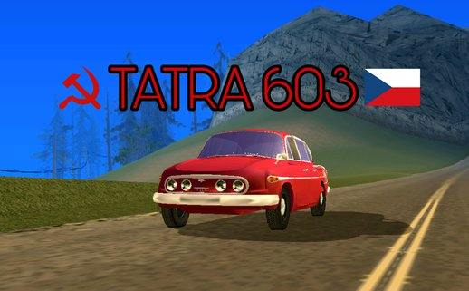 Tatra 603 for Android (dff only)