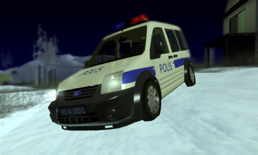 Ford Tourneo Connect Turkish Police