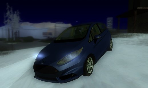 Ford Fiesta ST [High Poly]