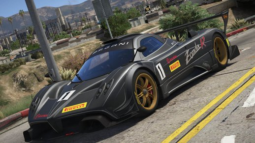 2012 Pagani Zonda R [Add-On / Replace | Liveries | Template]