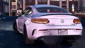 2016 Mercedes C63 AMG S Coupe [Add-On | Replace | Animated | Analog / Digital Dials]
