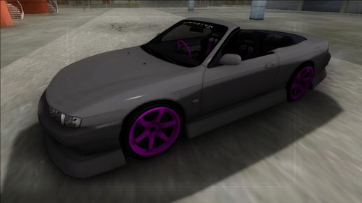 Nissan 200SX Cabrio Drift Monster Energy