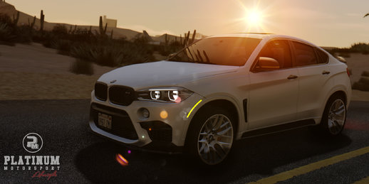 BMW X6M F86 2016 Black Revel Edition