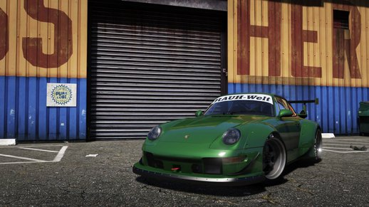 Porsche 911(993) GT-2 1992 RWB[Replace/Add-On][HQ Interior][HQ Exterior][UV Map]