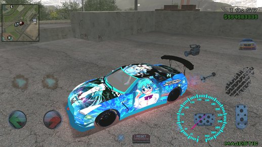 NISSAN GTR R35 Need for Speed Hatsune Miku
