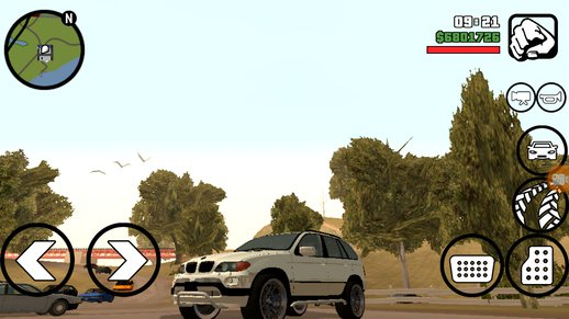 BMW X5 for Android Dff Only
