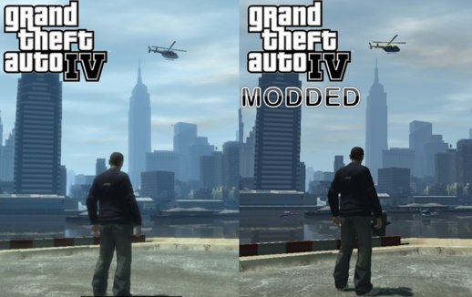 GTA:TBoGT Graphics for Grand Theft Auto IV